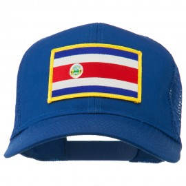 Costa Rica Patched Mesh Cap