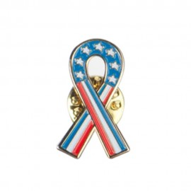 Ribbon Lapel Pin