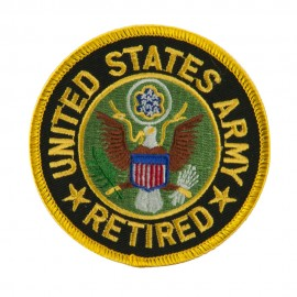 Retired Embroidered Military Patch - US Army
