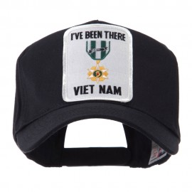 Retired Embroidered Military Patch Cap - Vietnam
