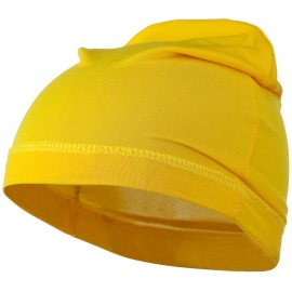 Real Fit Spandex Cap - Yellow