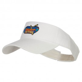 Rafting Patched Sun Visor