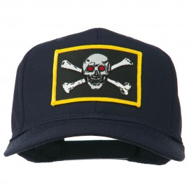 Red Eye Skull Choppers Patched Cap