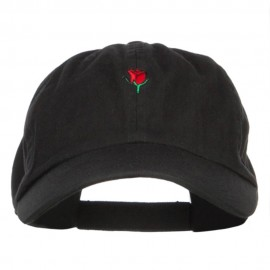 Mini Rose Embroidered Low Cap