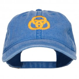 3 Rings Connected Embroidered Cap