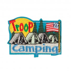 Troop Camping Patches