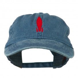 Image of Rocket Embroidered Washed Cap
