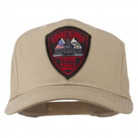 Rhode Island State Police Patched Cap - Khaki