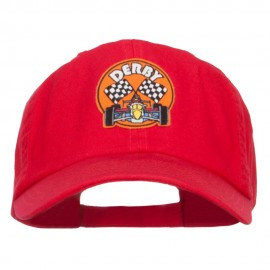 Derby Race Flag Patched Cap