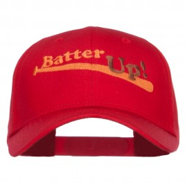 Batter Up Embroidered Low Profile Cap
