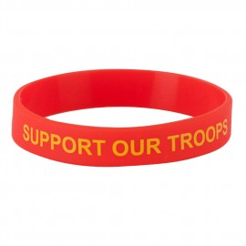 Assorted Silicone Wristbands - Red