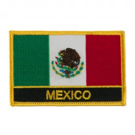 North and South America Flag Embroidered Patch