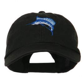 Sailfish Embroidered Washed Cap