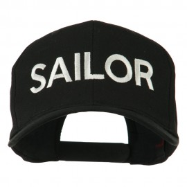 Sailor Embroidered Cap