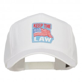 USA Keep the Law Patched Cap