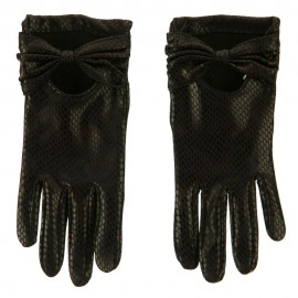 Snake Bow Accent Glove