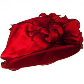 Satin Band Velvet Hat