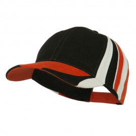 Stripe Crown Deluxe Cap