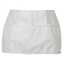 3 Pockets Chef's Apron - White