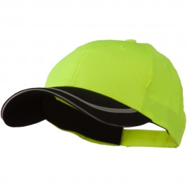 Poly Twill Safety Cap - Yellow Black