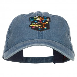 Science Patch Washed Cap