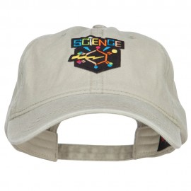 Science Patch Washed Cap - Stone