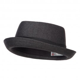 Solid Upbrim Pork Pie Fedora