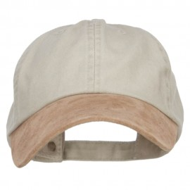 Suede Bill Washed Pigment Dyed Cap