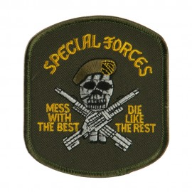 Special Forces Military Large Patch - Green Special