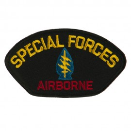 Special Forces Military Large Patch - Special Airborne