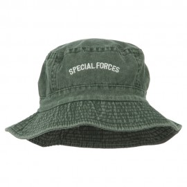 Special Forces Embroidered Bucket Hat