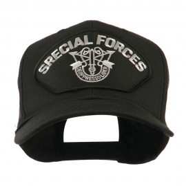 Special Forces Military Large Patched Cap