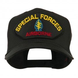 Special Forces Military Large Patched Cap - Special Airborne