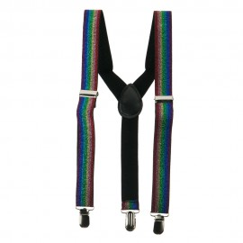 Kid's Shiny Glitter Suspenders
