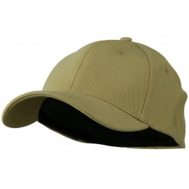 Stretch Heavy Weight Brushed Cotton Fitted Cap