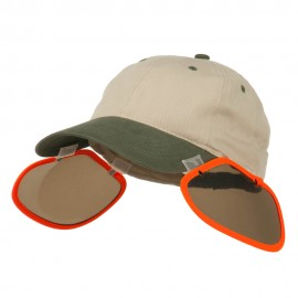 UV Clip On Shade Panel for Hats (Panel Only)