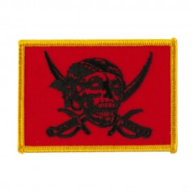 Skull and Choppers Embroidered Military Patch - Pirates