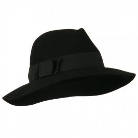 Women's Big Brim Fedora