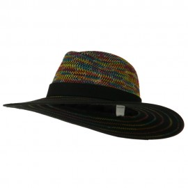 Women's Multi Stitched Wool Felt Hat - Multi
