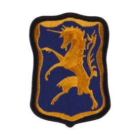 Army Small Embroidered Military Patch - 6th