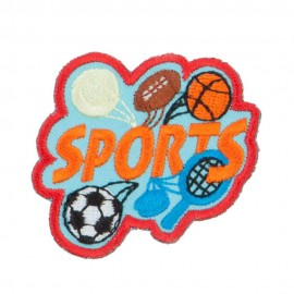 Sports Fun Patches