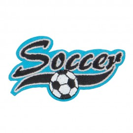 Soccer Embroidered Patches
