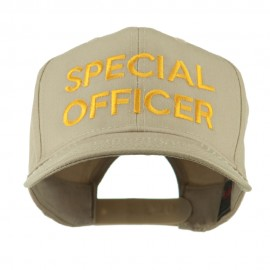 Special Officer Embroidered Cap