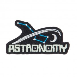 Space Embroidered Patches
