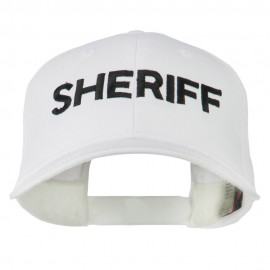 Sheriff Embroidered Low Profile Cap