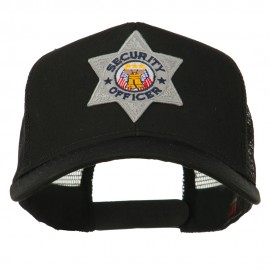 USA Security Officer Patched Mesh Back Cap