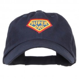 Super Dad Family Patched Low Cotton Cap
