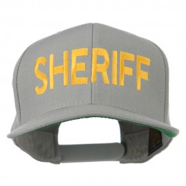 Sheriff Embroidered Snapback Cap