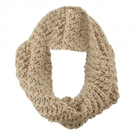 Solid Thick Ribbed Neck Warmer