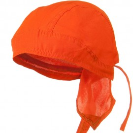 Solid Color Series Head Wraps - High Visibility Orange